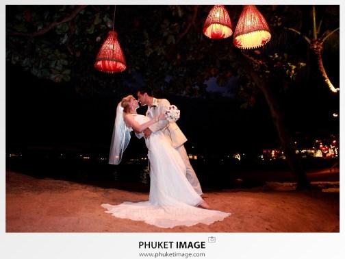 Wedding on the in Krabi by Phuket photographer.