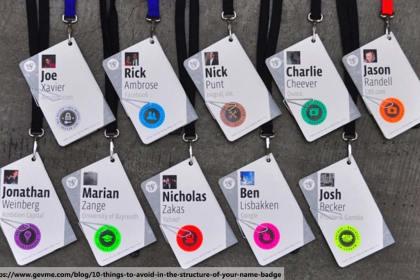 badge design, Meeting Phuket