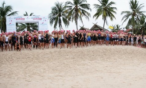 Keen Global Interest in Laguna Phuket 2011 Double Triathlon Festival