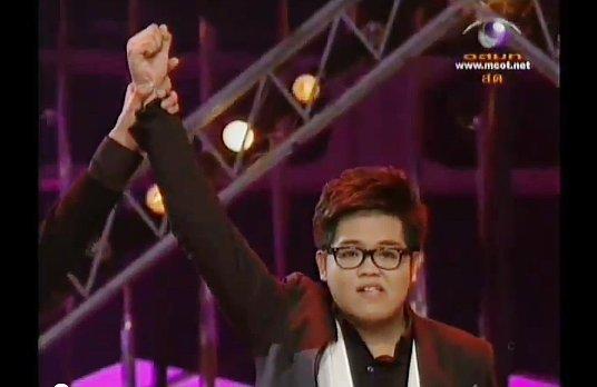 Phuket Boy wins Thailand's famous singing contest