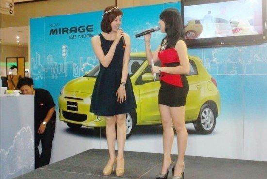 Mitsubishi Mirage @ Central Festival Phuket