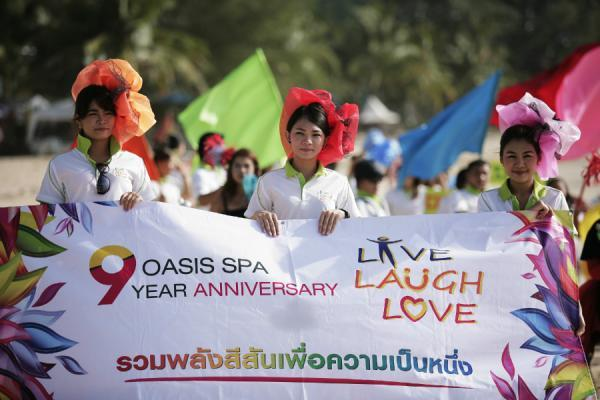 Phuket plays host to Oasis Spa 9th Anniversary Party