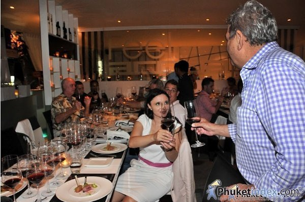 Phuket's Acqua hosts Gaja Wine & Taste Dinner