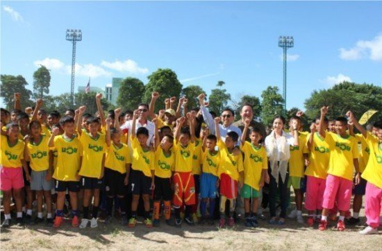 Phuket sees Brazilian coach train students