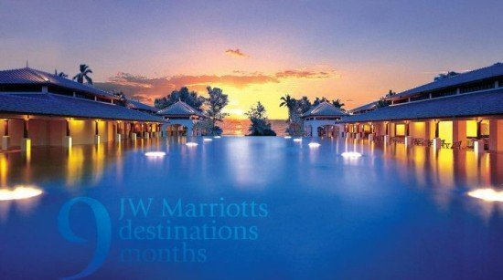 Phuket's JW Marriott Resort's September Facebook Activity