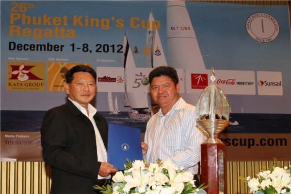 Phuket's Kata Group sponsoring King's Cup Regatta for 15th year