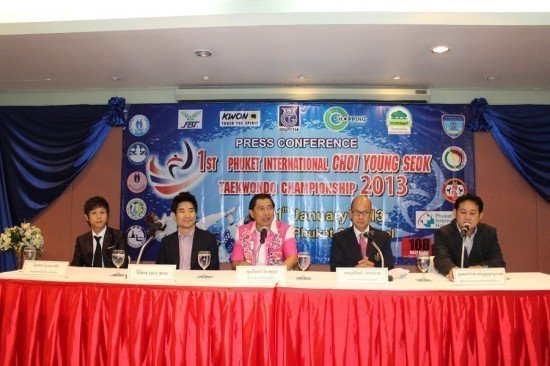 Phuket ready for first International Taekwondo Championship