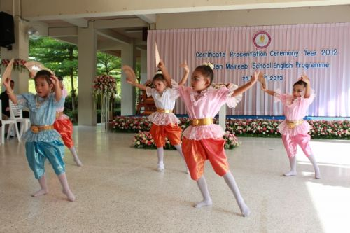 Phuket school awards diplomas to young graduates
