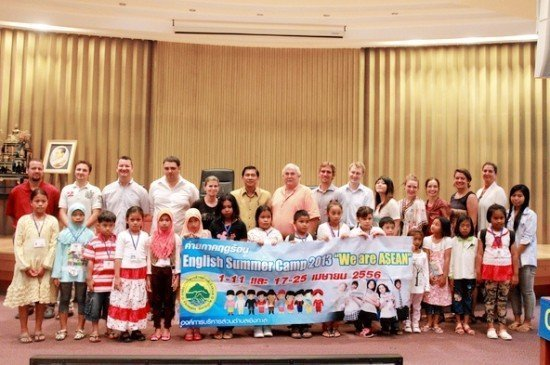 "Phuket holds ""WE ARE ASEAN"" English Summer Camp"
