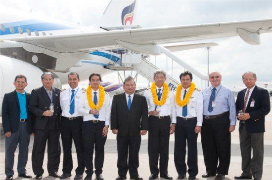 Bangkok Airways takes delivery of its latest A319 aircraft