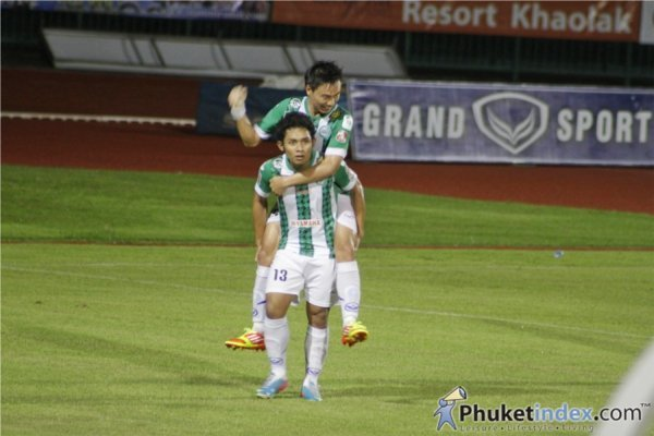 Phuket FC stuns Premier League's Dragon Kings