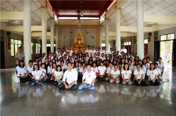 Large Candles Offering For Buddhist Lent by The Attitude Club