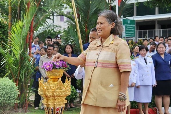 Princess Sirindhorn spends day on Phuket