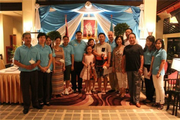 Dusit Thani Phuket celebrates Her Majesty The Queen's Birthday