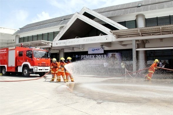 Phuket Airport holds full scale emergency exercise