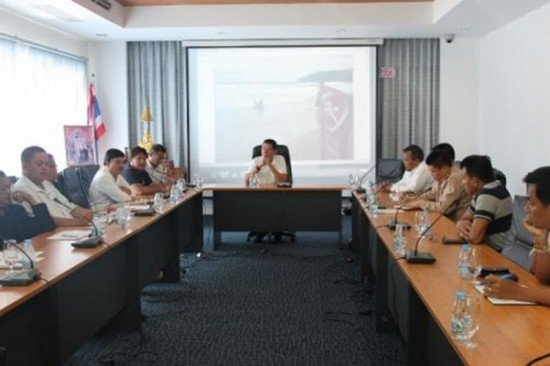 Phuket holds lifeguard operations meeting
