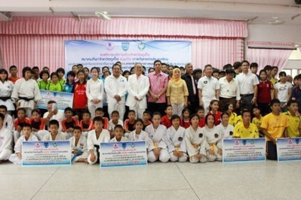 Phuket PAO supports youths competing in 2013 National Youth Games
