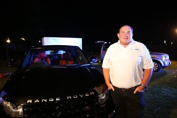 Jaguar Land Rover demonstrates vehicles at Phuket Regatta