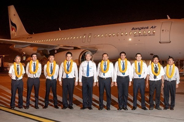 Bangkok Airways takes delivery of its latest aircraft A320