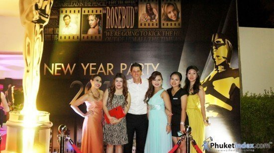 Oscars New Year's Party at Mövenpick Bangtao
