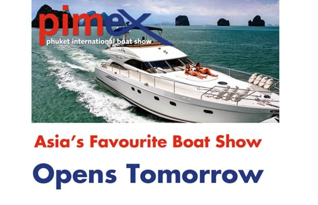 Phuket International Boat Show (PIMEX) Opens Tomorrow