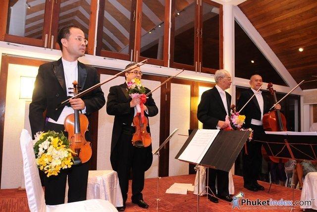 Phuket's Mom Tri's Villa Royale hold's Classical Music Concert