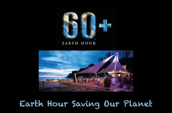 A Candle Light Dinner for Earth Hour at Centara Grand Beach Resort Phuket