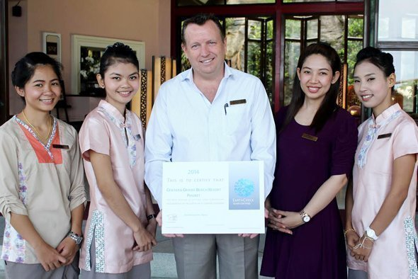 EARTHCHECK certifies Centara Grand Beach Resort Phuket, Silver!