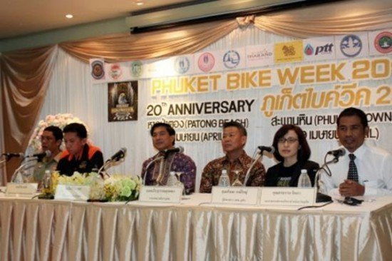 Phuket Bile Week 2014 Press Conference