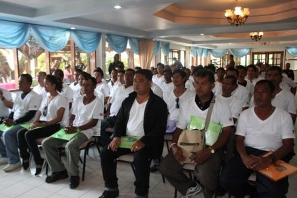 Phuket trains Community Police Volunteers