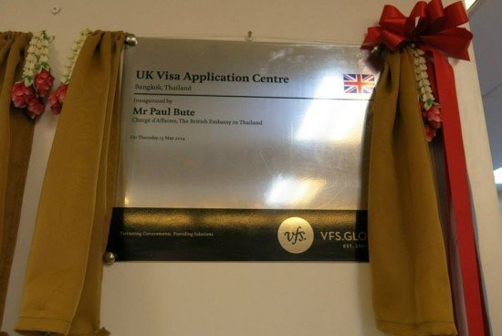 UK opens new visa application centre in Bangkok