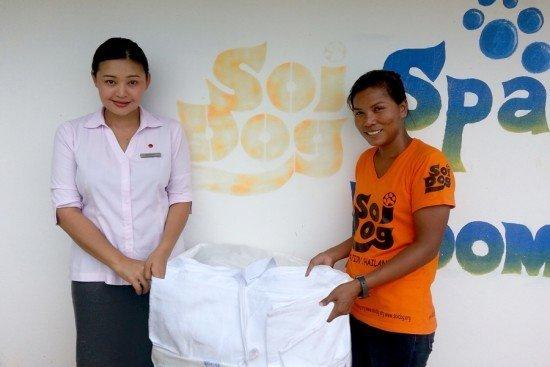 Amari Phuket supports Soi Dog Foundation