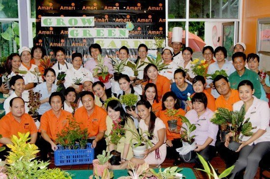 Amari Phuket supports World Environment Day 2014