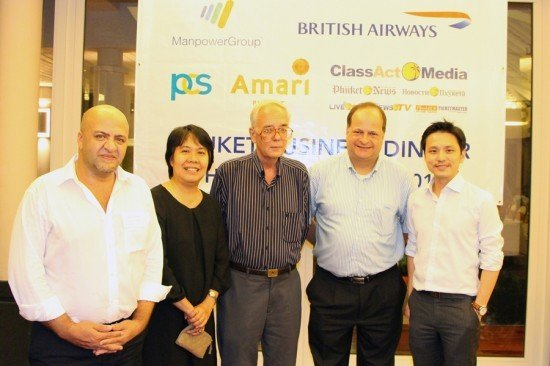 The first BCCT business dinner at Amari Phuket