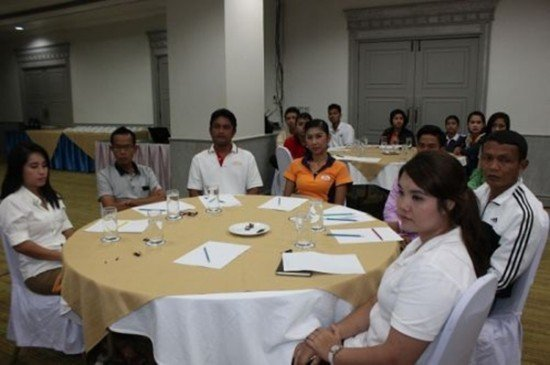Phuket holds training for F & B professionals