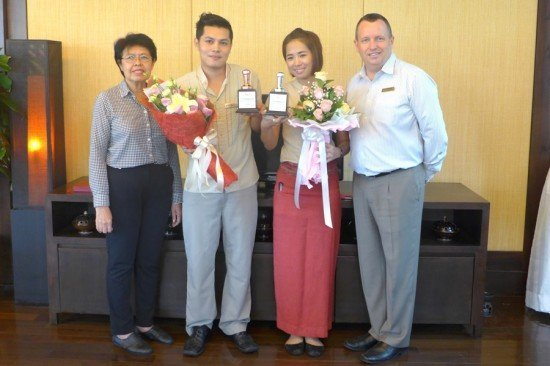 Centara Phuket baristas runners-up in annual competition