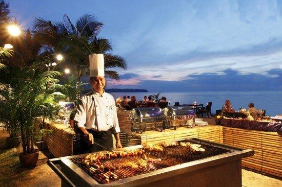 Andaman Seafood BBQ Buffet at Casuarina Beach Restaurant