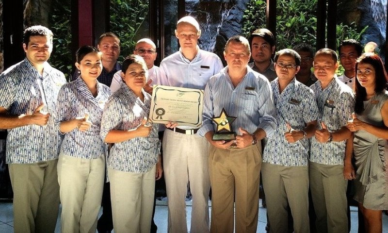 Centara Grand Phuket receives 2 Green Leaf Awards