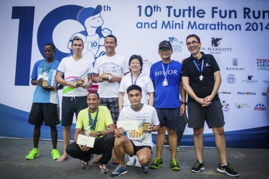 JW Marriott Phuket Resort staged 10th Turtle Fun Run