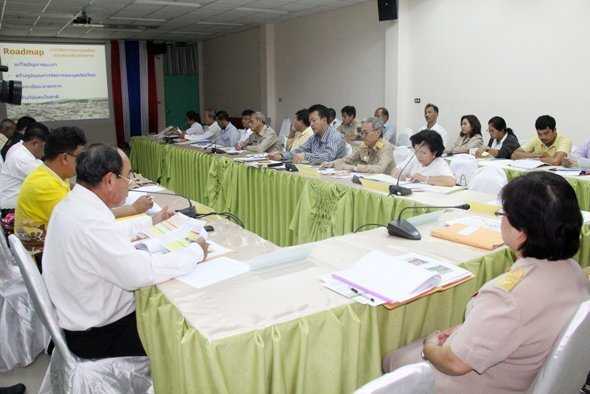 Phuket holds further solid waste and waste water management meeting
