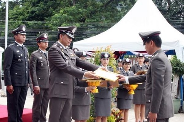 Phuket officials commemorate National Police Day