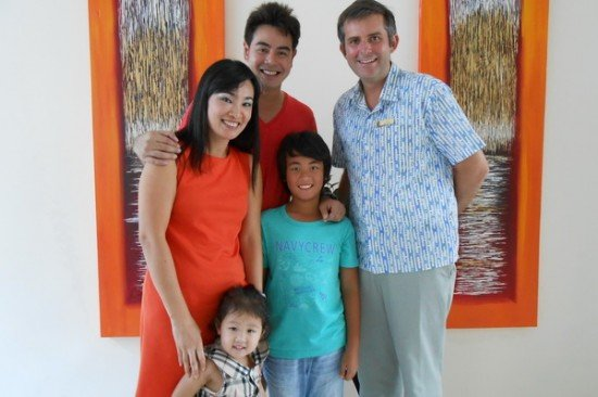 Centara West Sands Phuket welcomes famous Thai family