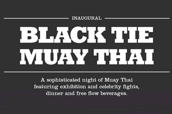 Phuket Charity to host Black Tie Muay Thai event