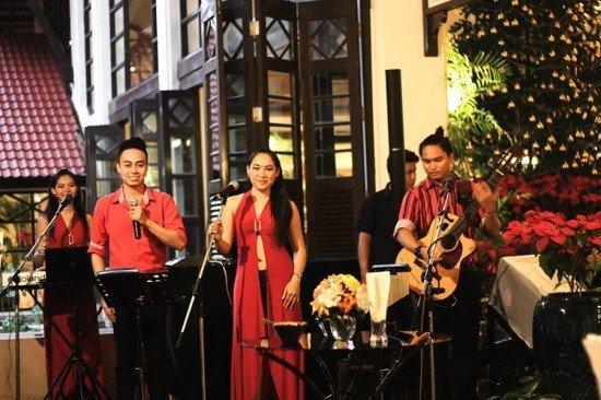 Dusit Thani Phuket lights Christmas tree for the festive holiday
