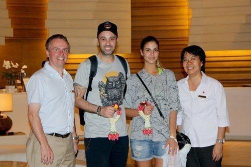 Israeli Superstar Visits Amari Phuket
