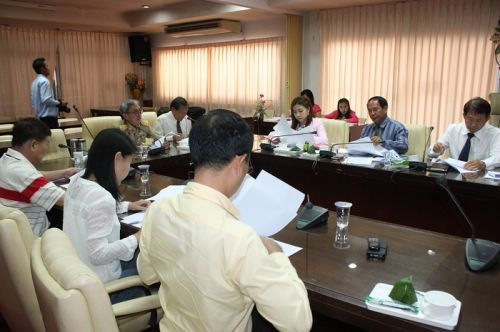 Meeting To Prepare For New Intake Of Students Into PPAO Schools For 2015