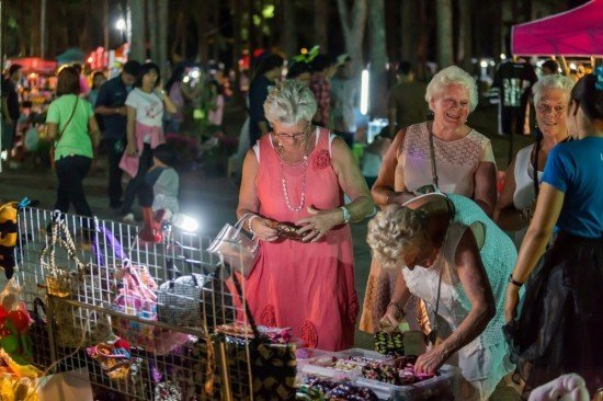 The Market is enjoyed by the local and tourists alike