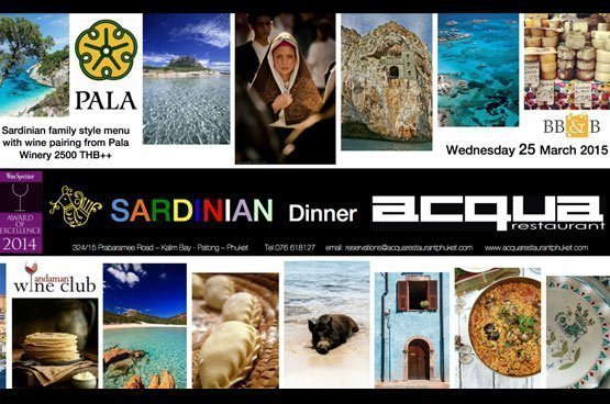 Sardinian dinner at Acqua Restaurant