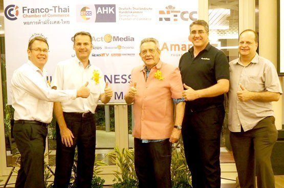 British Chamber of Commerce Thailand holds its business dinner