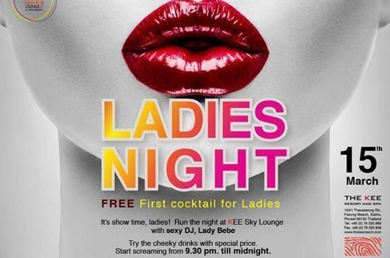 Ladies Night 15th March - Let's run the world